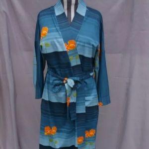 Vintage Housecoat Robe Conrad Long